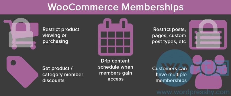 woocommerce会员系统教程woocommerce memberships plugin介绍